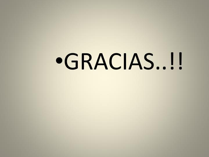 GRACIAS..!!
