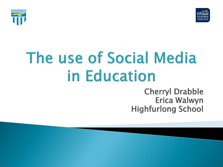 the use of social media in education