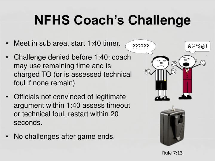 NFHS Coach's