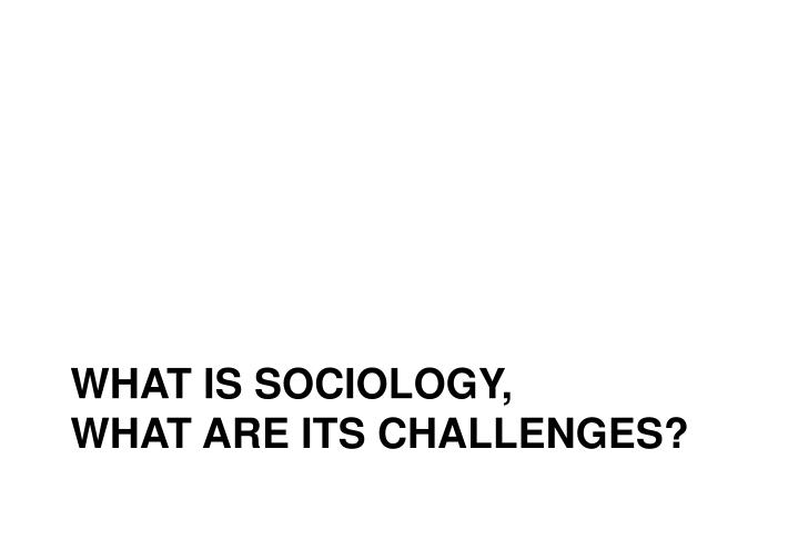 what is sociology,