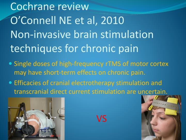 Cochrane review