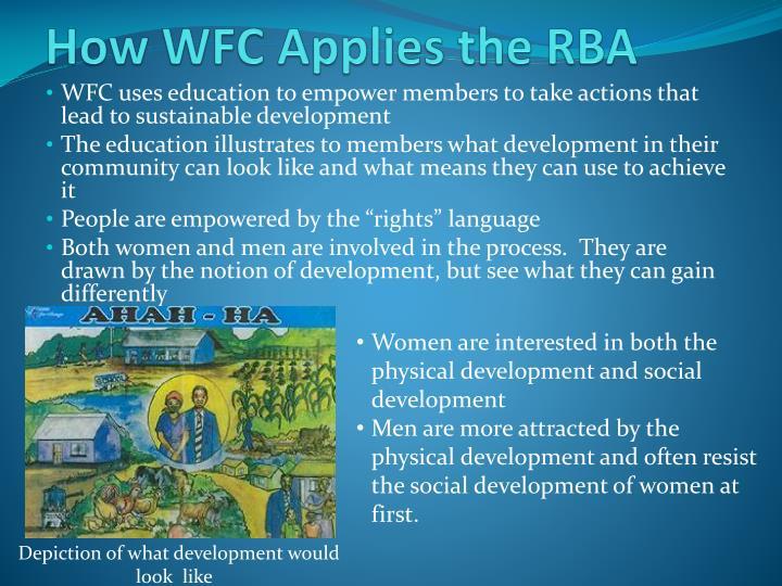 How WFC Applies the RBA