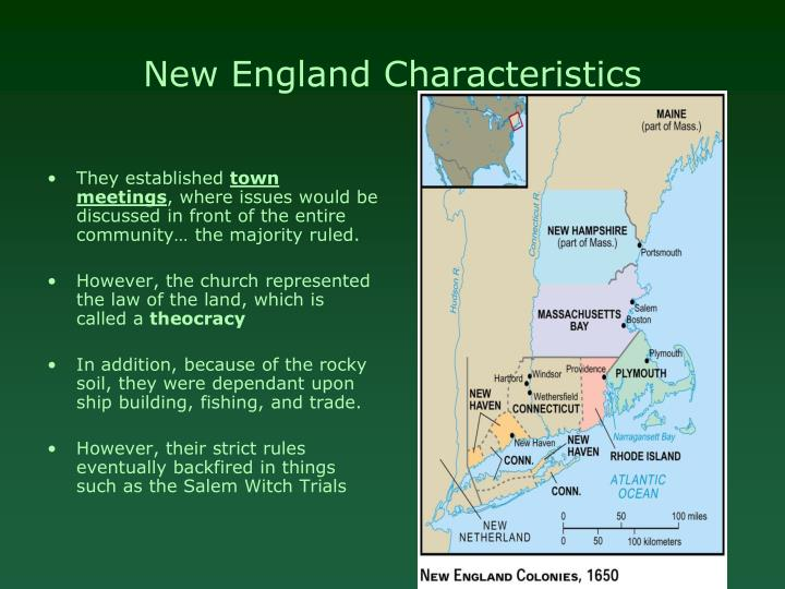 New England Characteristics