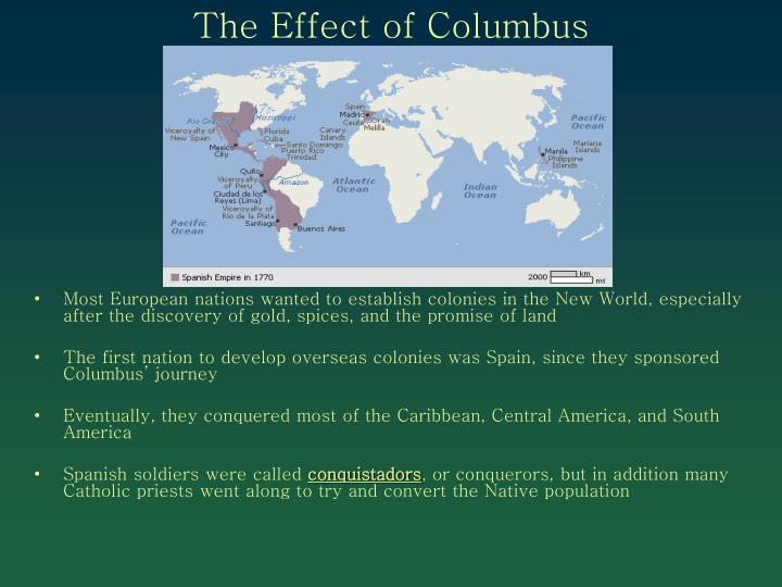The Effect of Columbus
