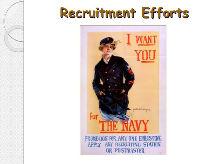 Recruitment Efforts