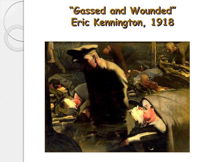"""Gassed and Wounded"""