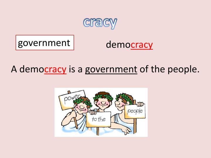 cracy