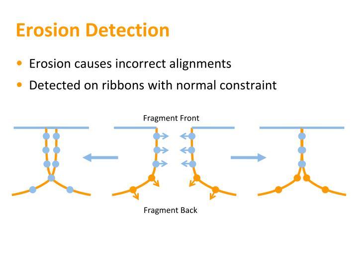 Erosion Detection