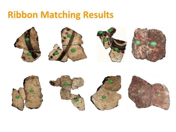 Ribbon Matching Results