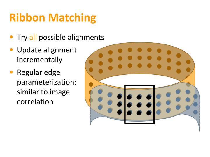 Ribbon Matching