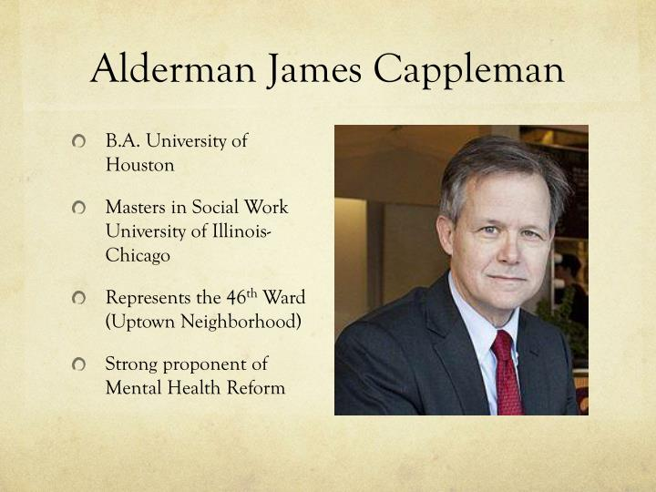 Alderman James