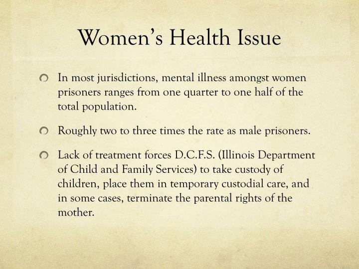 Women's Health Issue