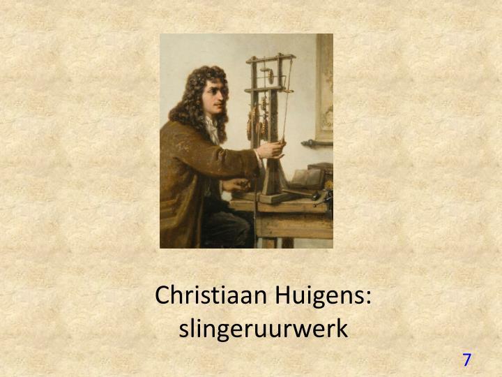 Christiaan Huigens: