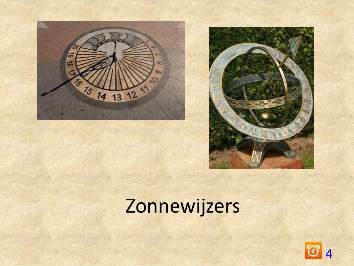 Zonnewijzers