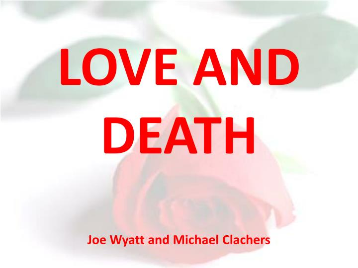 love and death essay