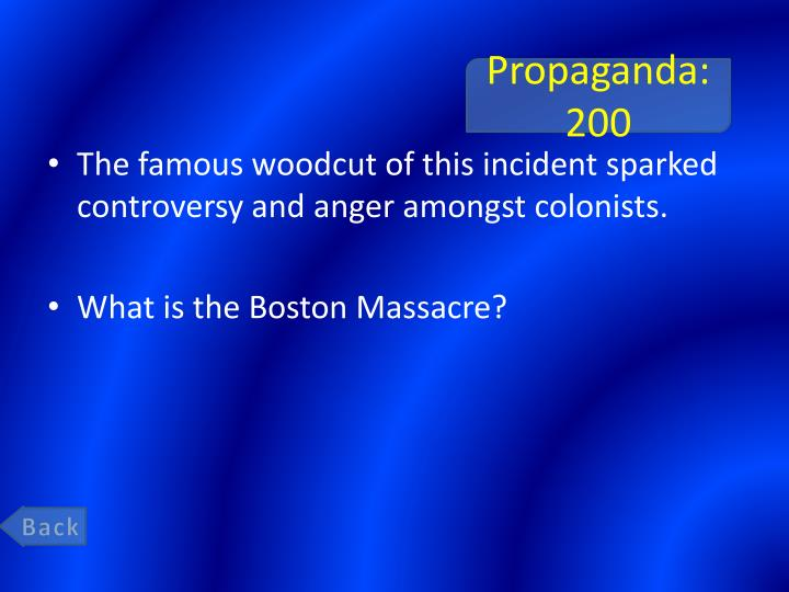 Propaganda: 200