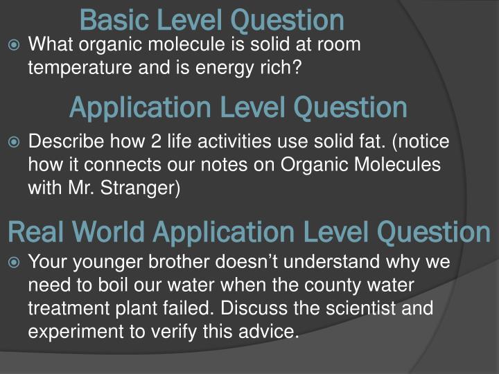 Basic Level Question