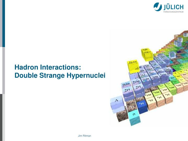 Hadron Interactions: