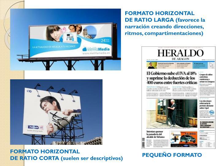 FORMATO HORIZONTAL