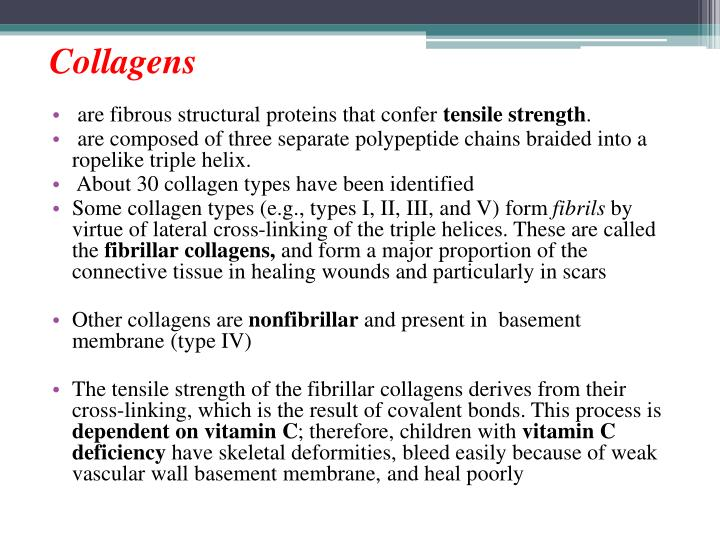 Collagens