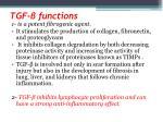 tgf functions