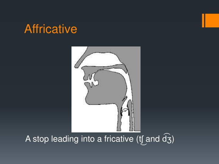 Affricative