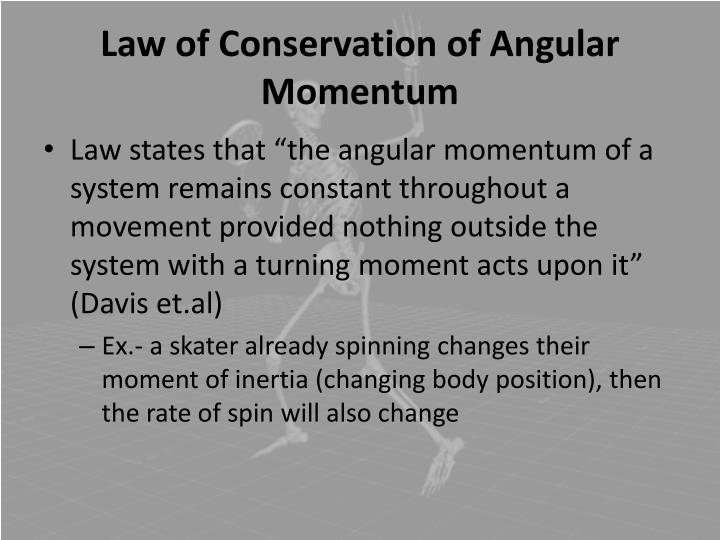 conservation of momentum essay Momentum is conserved what are the forces between pieces called in an explosion there are no external forces on the universe law of conservation of momentum in any collision or explosion, the total momentum remains constant.