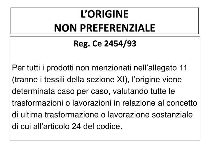 L'ORIGINE