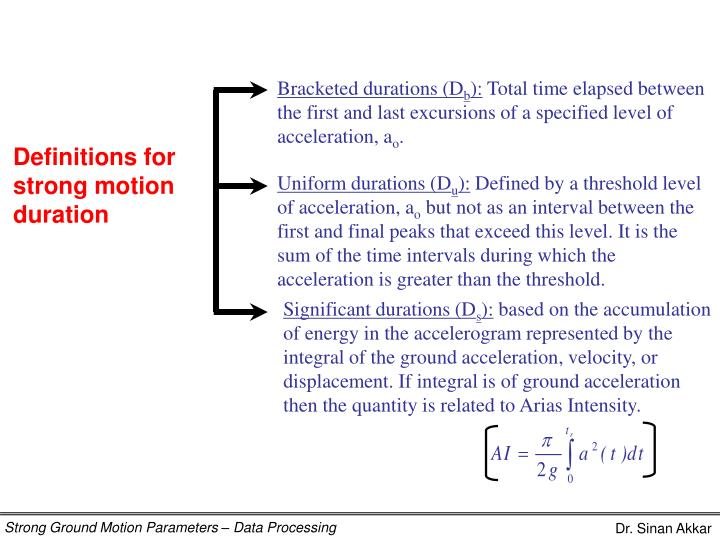 Bracketed durations (D