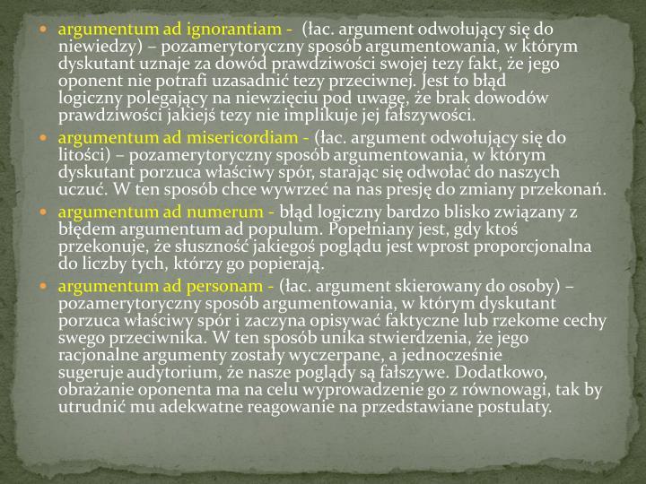 argumentum ad