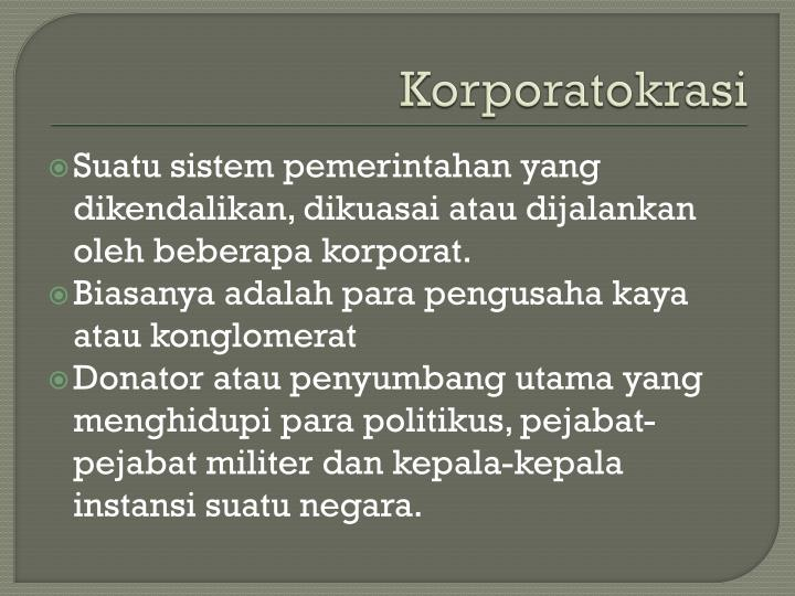 Korporatokrasi