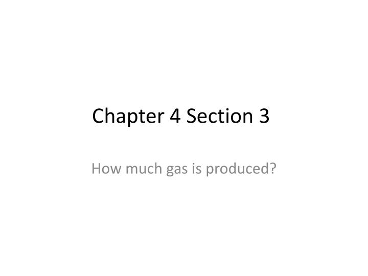 Chapter 4 section 3
