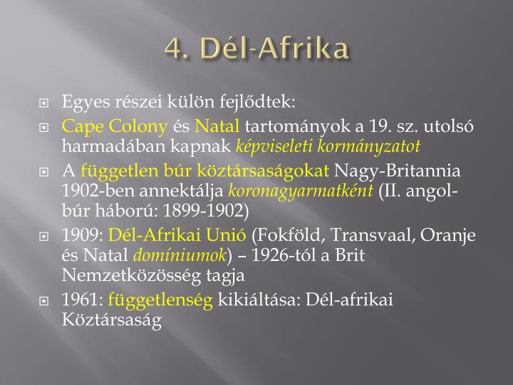 4. Dél-Afrika
