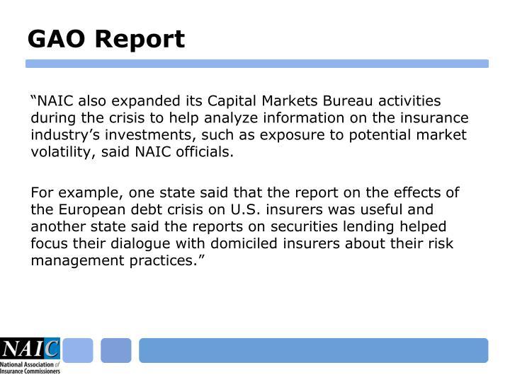 GAO Report