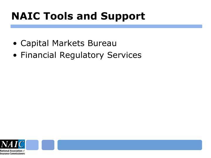 NAIC Tools and Support