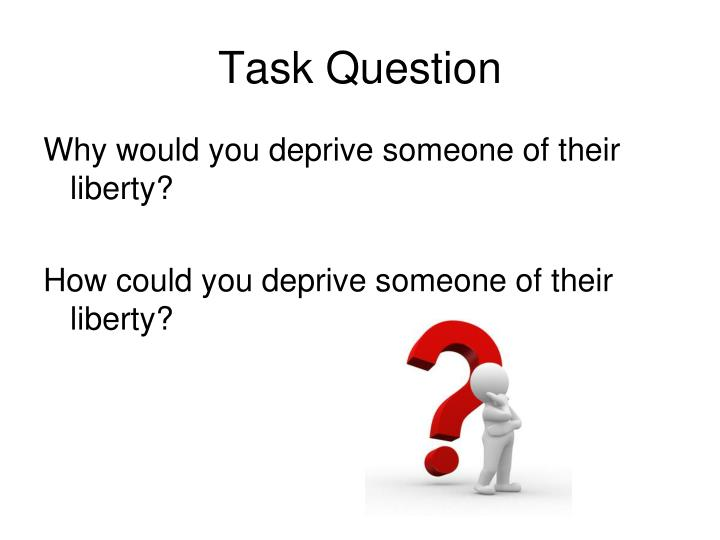 Task Question