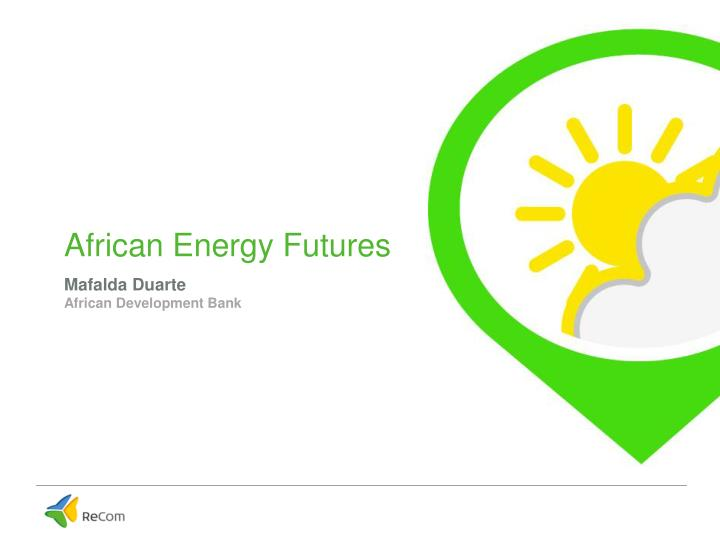 African energy f utures