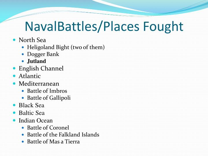 Navalbattles places fought