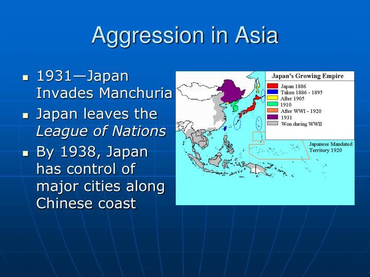Aggression in Asia