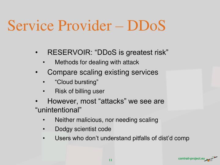 Service Provider –