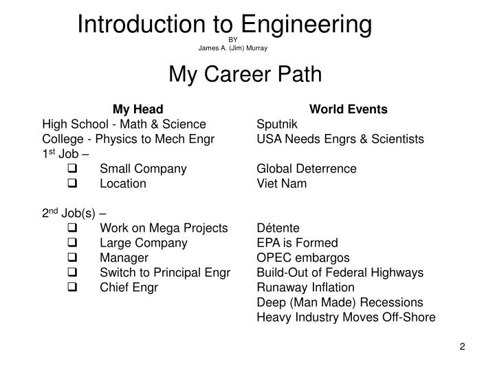 Introduction to engineering1