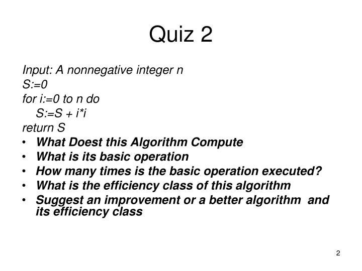 Quiz 2