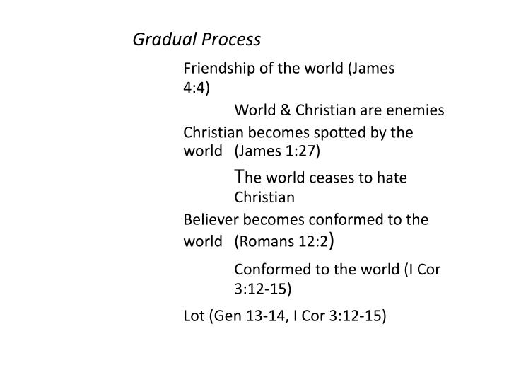 Gradual Process
