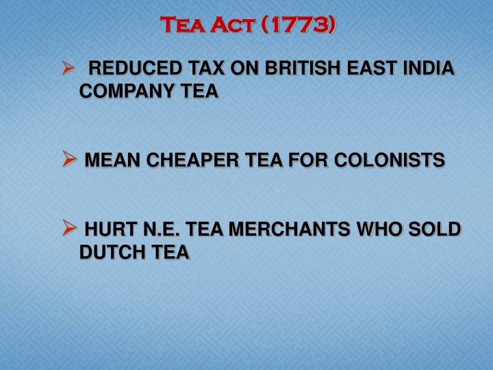 Tea Act (1773)