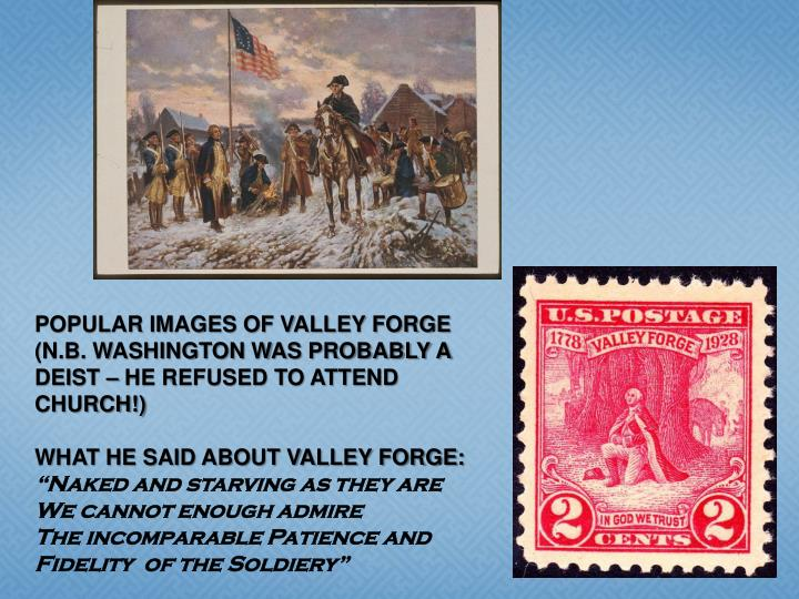 POPULAR IMAGES OF VALLEY FORGE