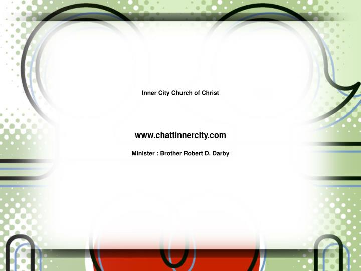 Inner City Church of Christ
