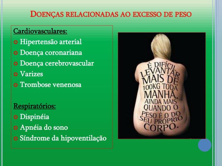 Doenas relacionadas ao excesso de peso