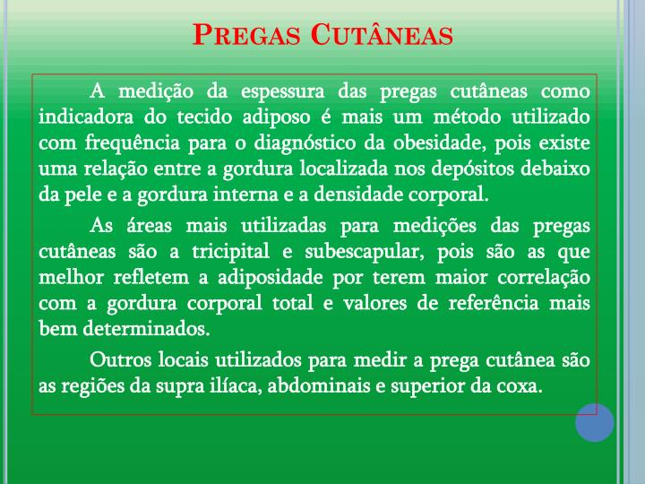 Pregas Cutneas