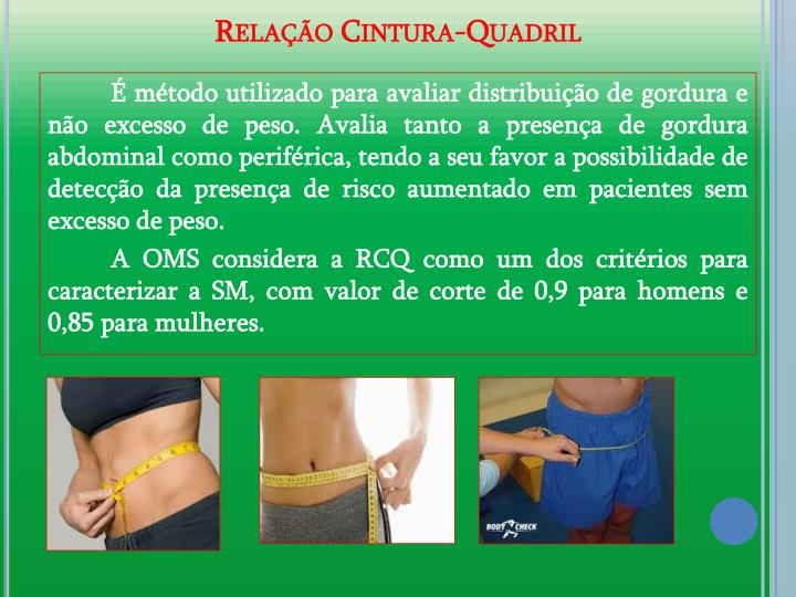 Relao Cintura-Quadril