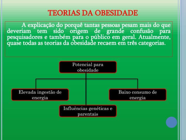 TEORIAS DA OBESIDADE